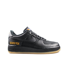 NIKE <BR> GORE-TEX AIR FORCE 1 LOW (BLACK / GUM)