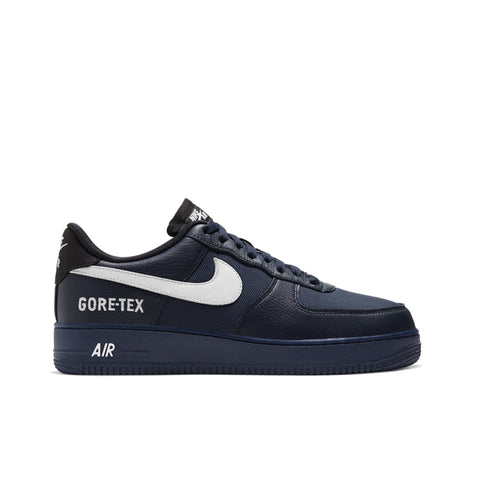 NIKE <BR> GORE-TEX AIR FORCE 1 (OBSIDIAN / WHITE)