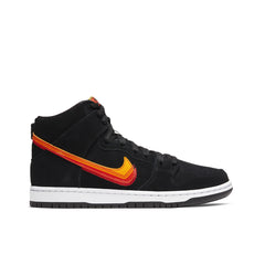 NIKE SB <BR> DUNK HIGH PRO 'TRUCK IT' (UNIVERSITY GOLD / TEAM ORANGE)