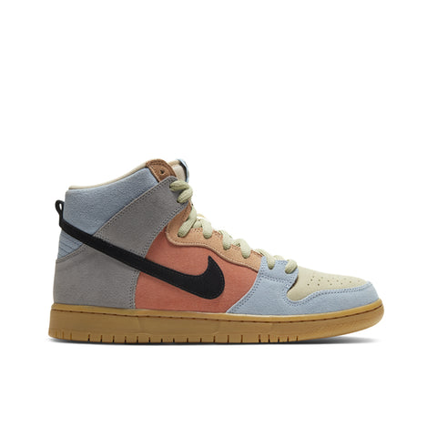 NIKE SB <BR> DUNK HIGH PRO 'SPECTRUM' (PARTICLE GREY)