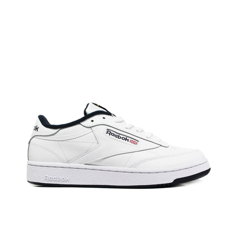 REEBOK <BR> CLUB C 85 (WHITE / NAVY)