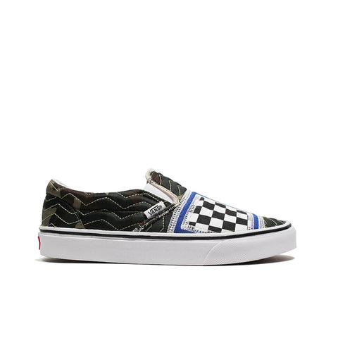 VANS <BR> CLASSIC SLIP-ON 'MIXED QUILTING' (BLACK)