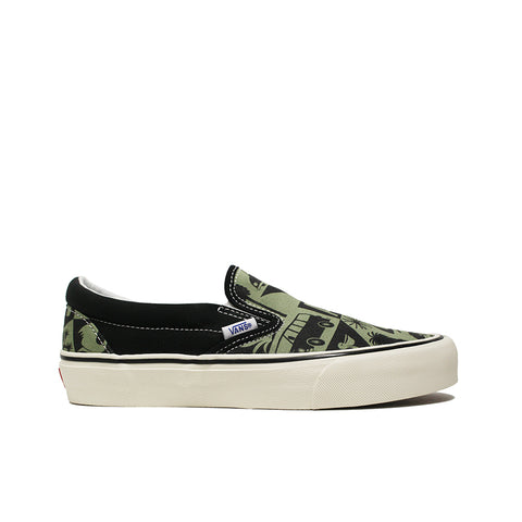 VANS <BR> YUSUKE HANAI CLASSIC SLIP-ON (OIL GREEN)