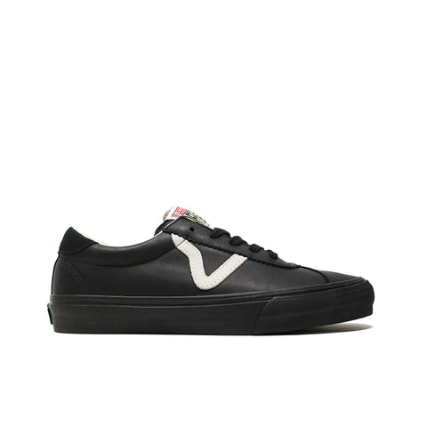 VANS VAULT <BR> EPOCH SPORT LX 'LEATHER & SUEDE' (BLACK)