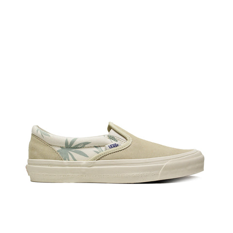 VANS VAULT <BR> MODERNICA CLASSIC SLIP-ON (PALM LEAF)