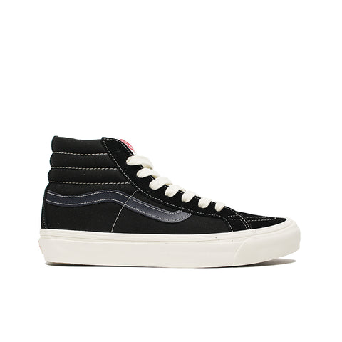 VANS VAULT<BR> OG SK8-HI LX (BLACK / DRESS BLUE)
