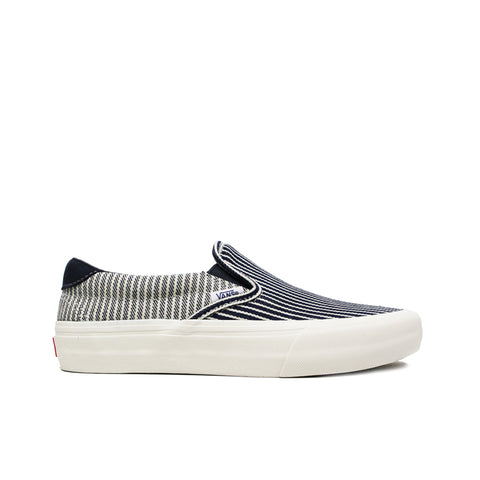 VANS VAULT <BR> MT. VERNON MILLS DENIM CO. SLIP-ON 59 LX (PARISIAN NIGHT)