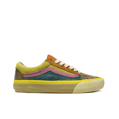 VANS VAULT <br> OLD SKOOL LX 'SUEDE / LEATHER' (MULTI)
