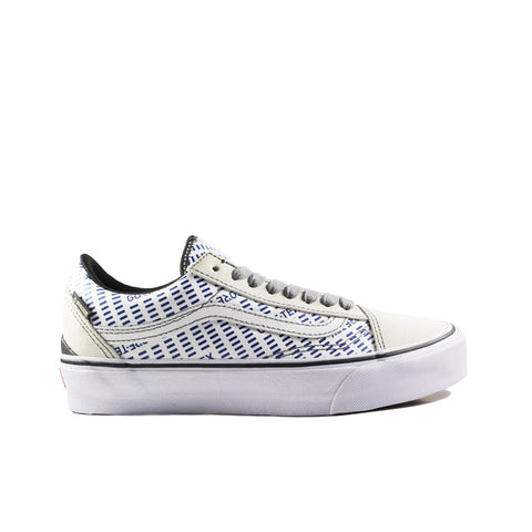 VANS VAULT <BR> GORE-TEX OLD SKOOL (WHITE / BLUE)