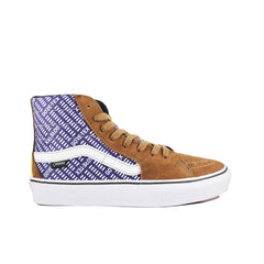 VANS VAULT <BR> GORE-TEX SK8-HI (BROWN / PURPLE)