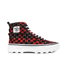 VANS <br> SENTRY WC 'CANVAS CHECKERBOARD' (PLAID / BLACK)