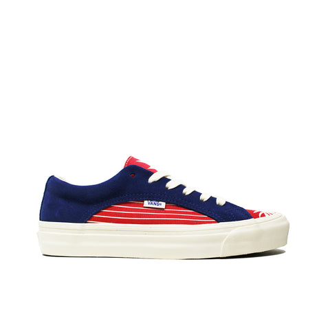 VANS VAULT <br> OG LAMPIN LX 'SUEDE & CANVAS' (TRUE BLUE / RACING RED)