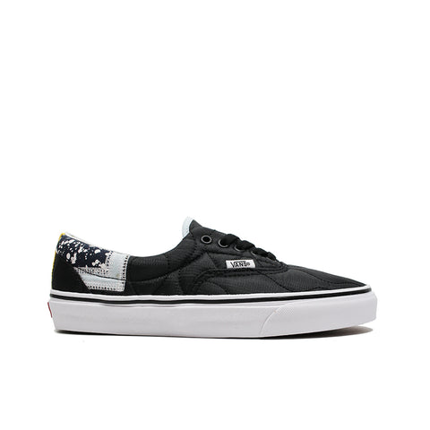 VANS <BR> ERA 'MIXED QUILTING' (BLACK)