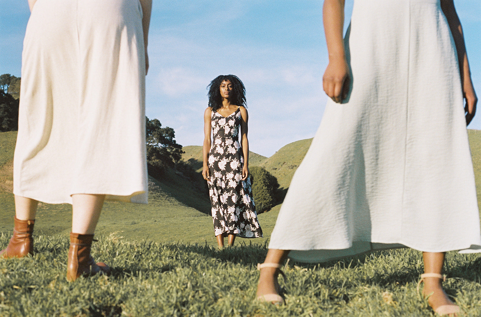 field day meadow dresses long dress on a hill will pockets