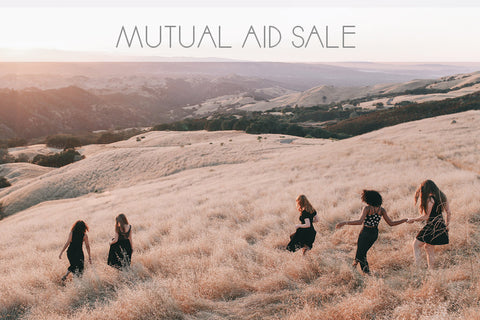 mutual aid sale banner