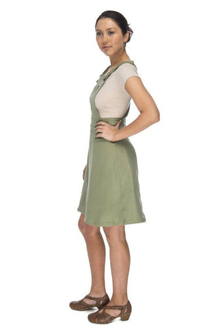 Adeline Dress in Olive