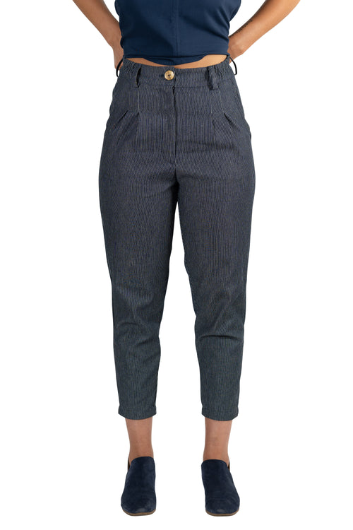 Perfect Pant in Railroad Denim