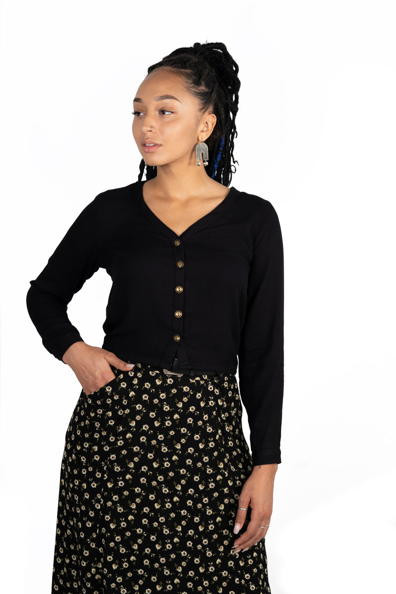 Brook Blouse in Black