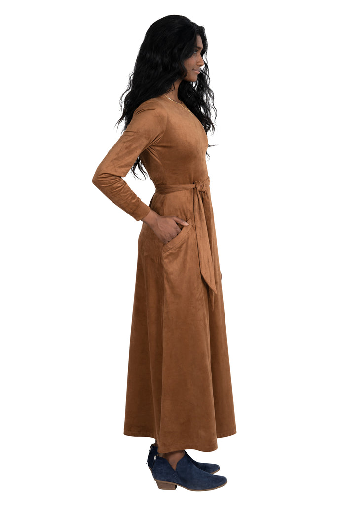 Maxi Dress in Cattail