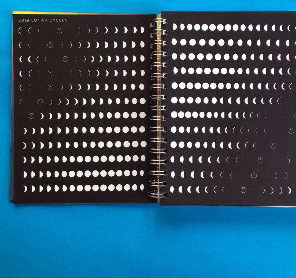 Many Moons Lunar Planner 2019