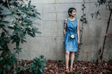 Tia Dress in Indigo Denim