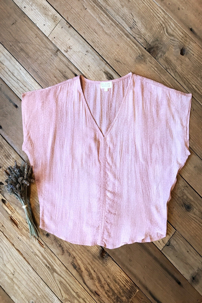 Dolman Top in Tea Rose