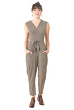 The Artemis Jumpsuit in Woven Basket by Field Day