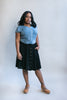 Bae Skirt in Black Challis
