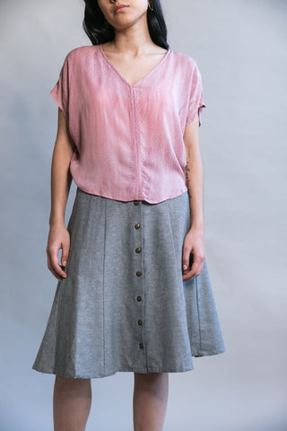 Brigid Jumper in Rose Crepe