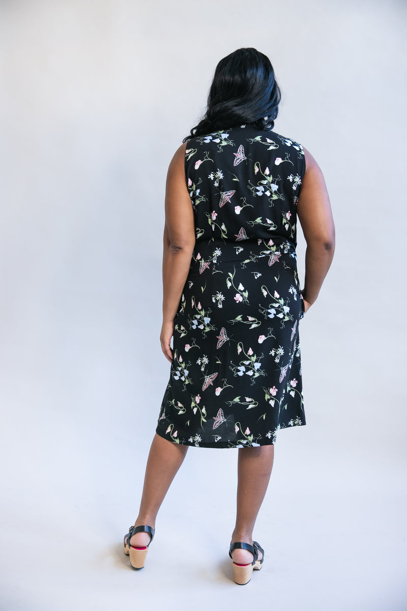 Paloma Dress in Sweet Pea