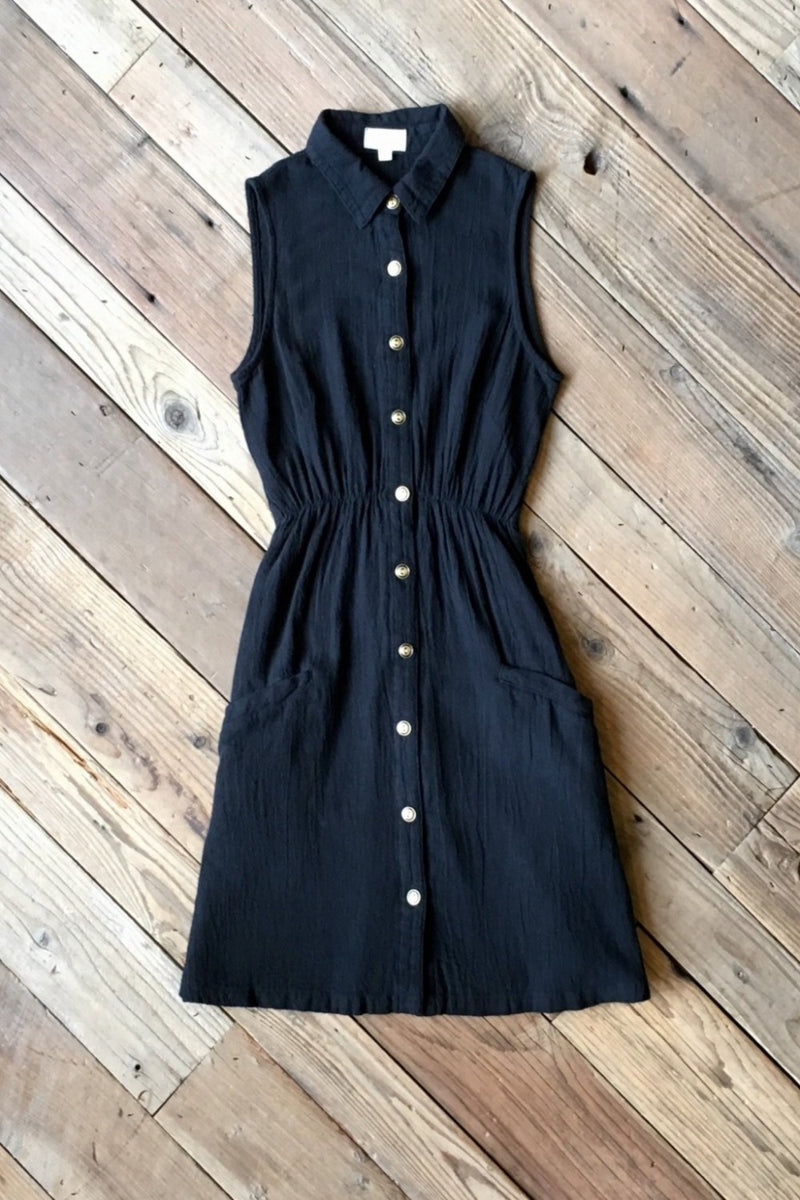 Mona Dress in Black