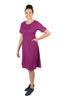 Ingrid Dress in Electric Violet