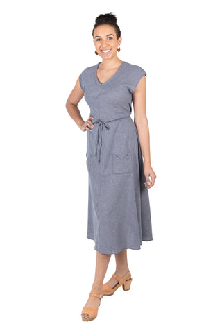 Mona Dress in Calendula Cotton