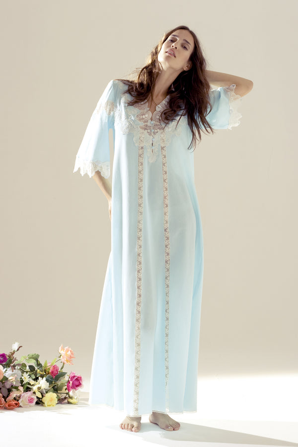 Cotton Nightgown - Dress - italian lingerie