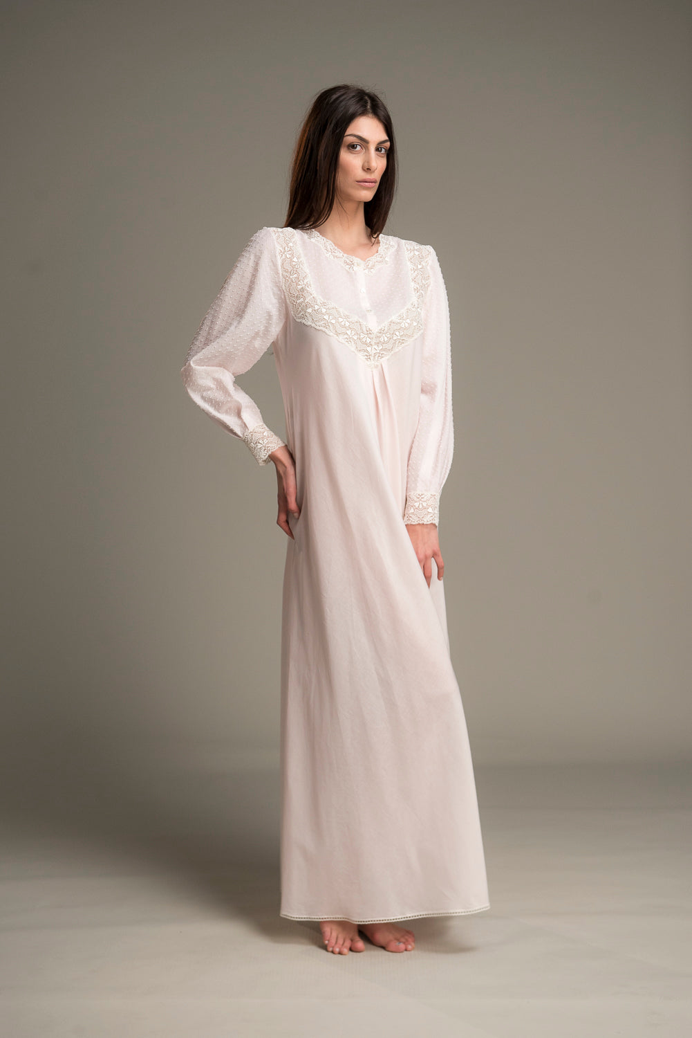 Plumetties Nightgown - Dress - italian lingerie