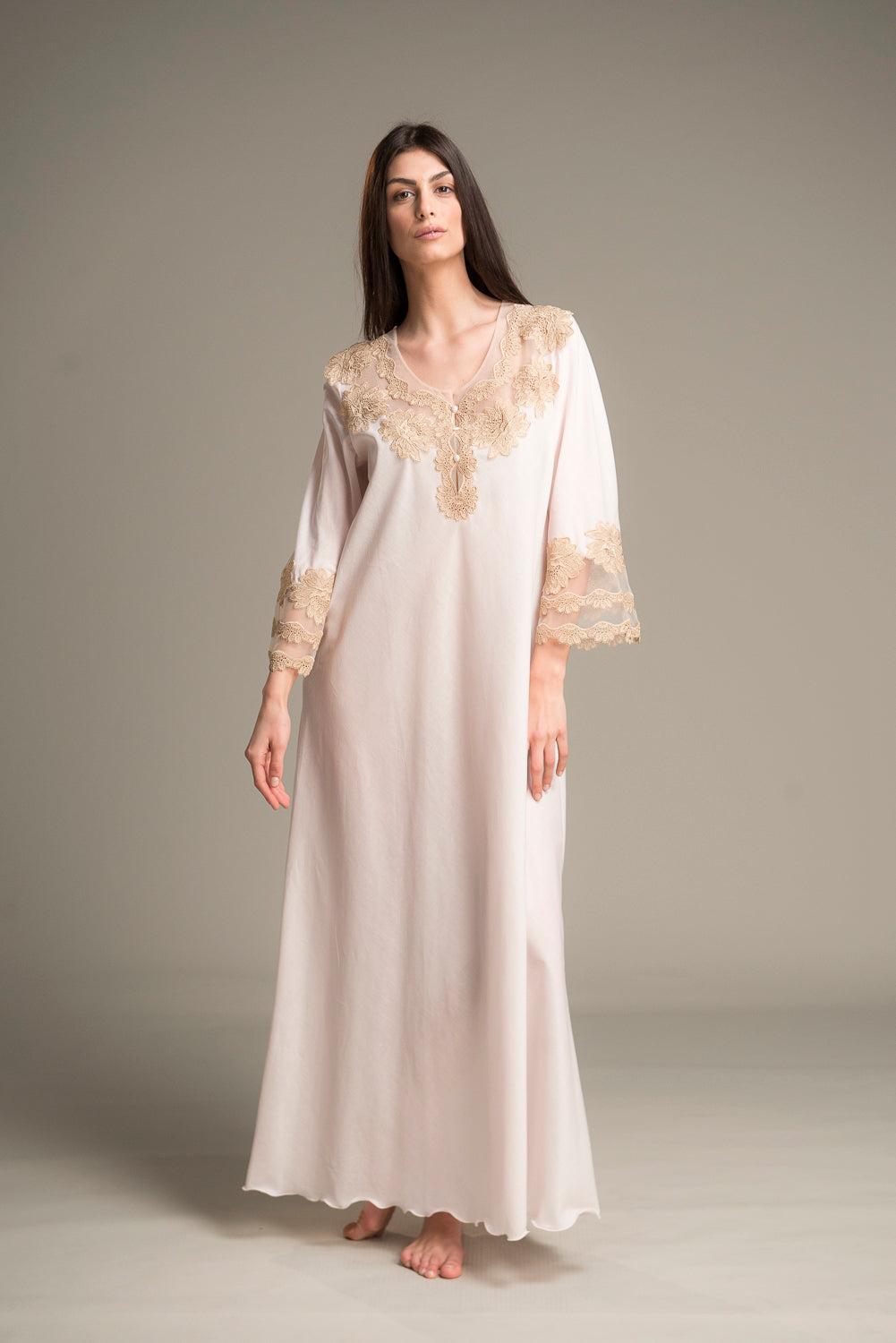 Perl - Long Nightgown
