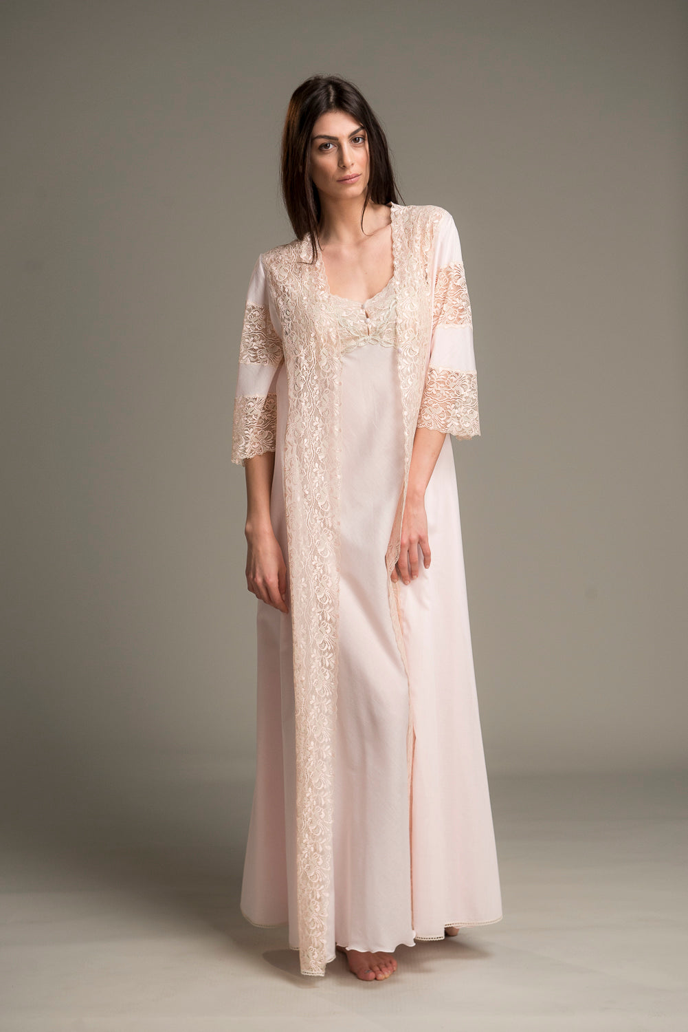 Tulip - Set Nightgown and Robe