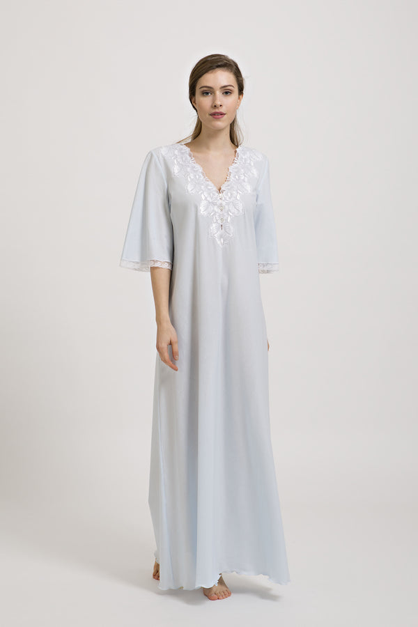 Gwendolyn - Cotton Nightgown - Dress - italian lingerie