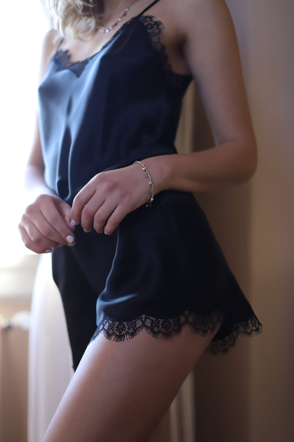 Short Silk - Dress - italian lingerie