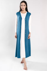 B2B - Viscose Jersey Long Gilet - Dress - italian lingerie