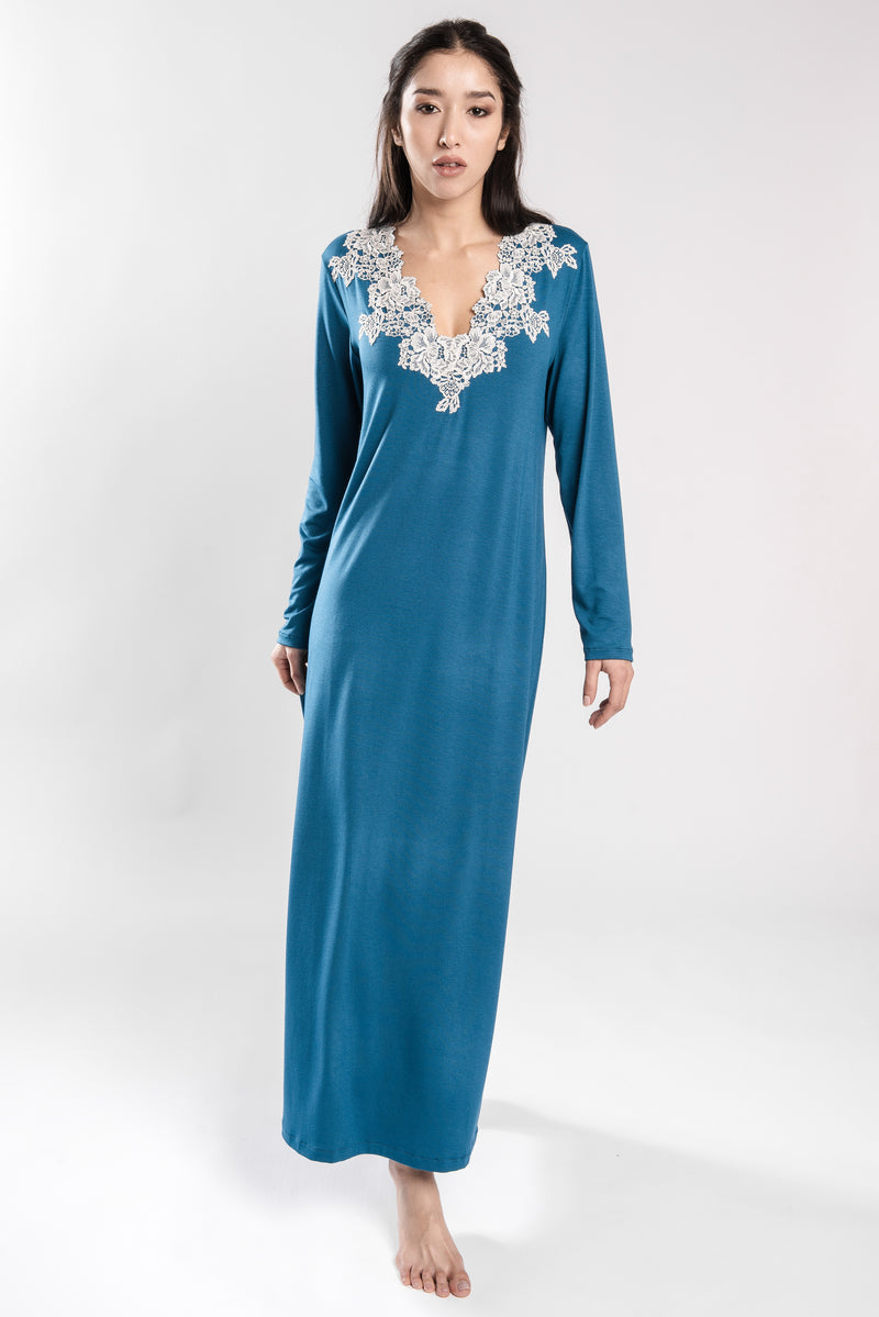 B2B - Viscose Jersey Nightgown - Dress - italian lingerie