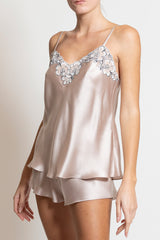 Silk Satin Top - Dress - italian lingerie