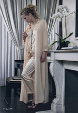 Jeanne - Silk Pyjama & Robe - Dress & Robe - italian lingerie