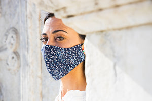 Scorpion Rice - Removable Filter Cotton Face Mask -  - italian lingerie