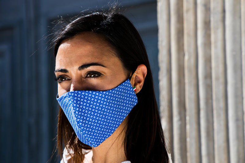 Scorpion Cashmere - Removable Filter Cotton Face Mask - Accessory - italian lingerie
