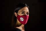 Red Flash - Removable Filter Cotton Face Mask -  - italian lingerie