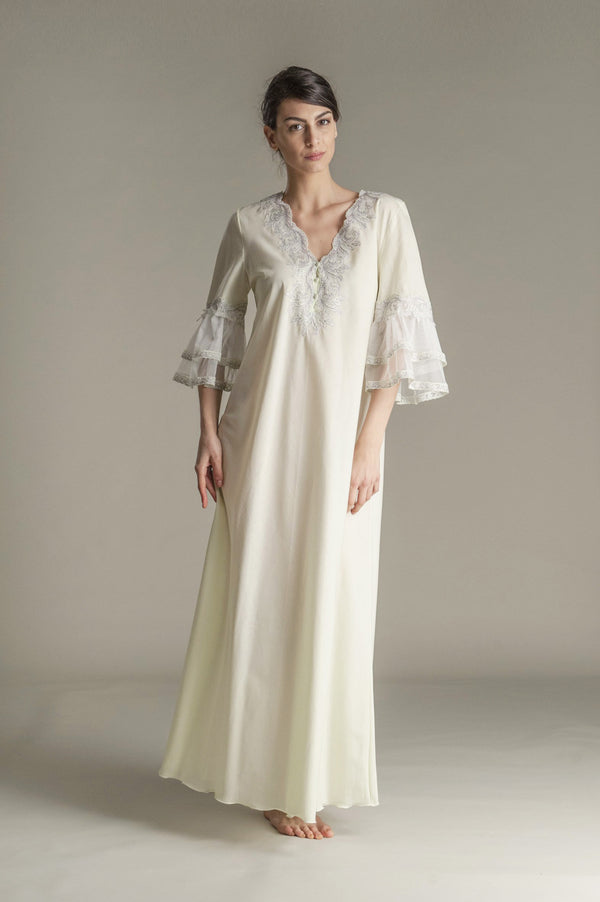 Cotton Nightgown - Lily - Dress - italian lingerie