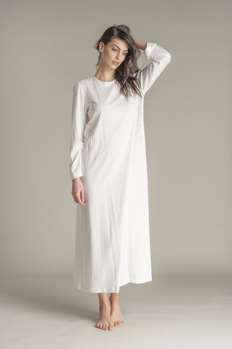 Jersey Nightgown - Dress - italian lingerie