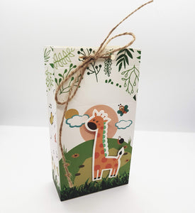 Safari Animal Paper Gift Bag with String