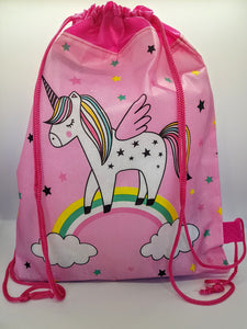 Unicorn Fabric Drawstring Travel bag